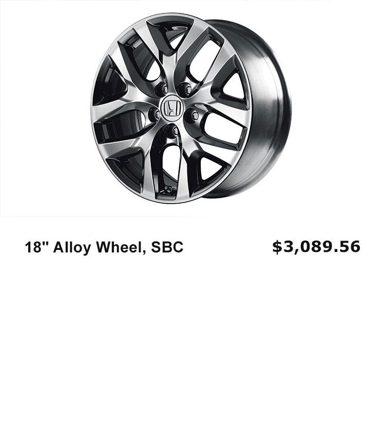 "18"" Alloy Wheels"
