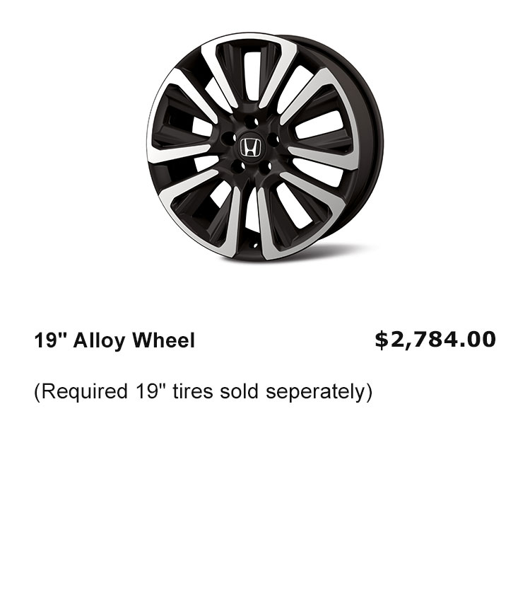 "19"" Wheel Rims"