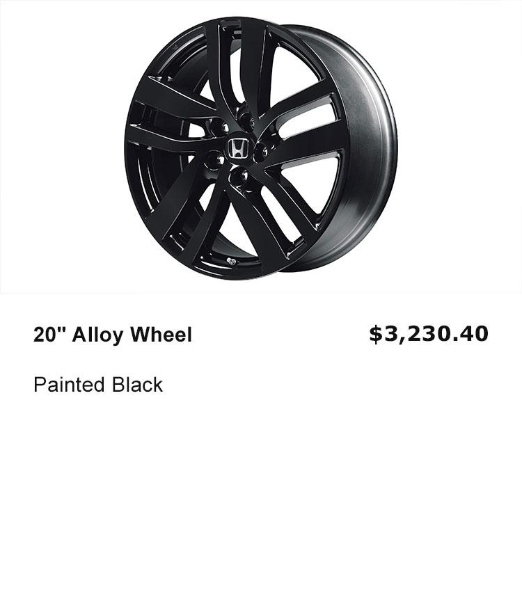 "20"" Alloy Wheel"