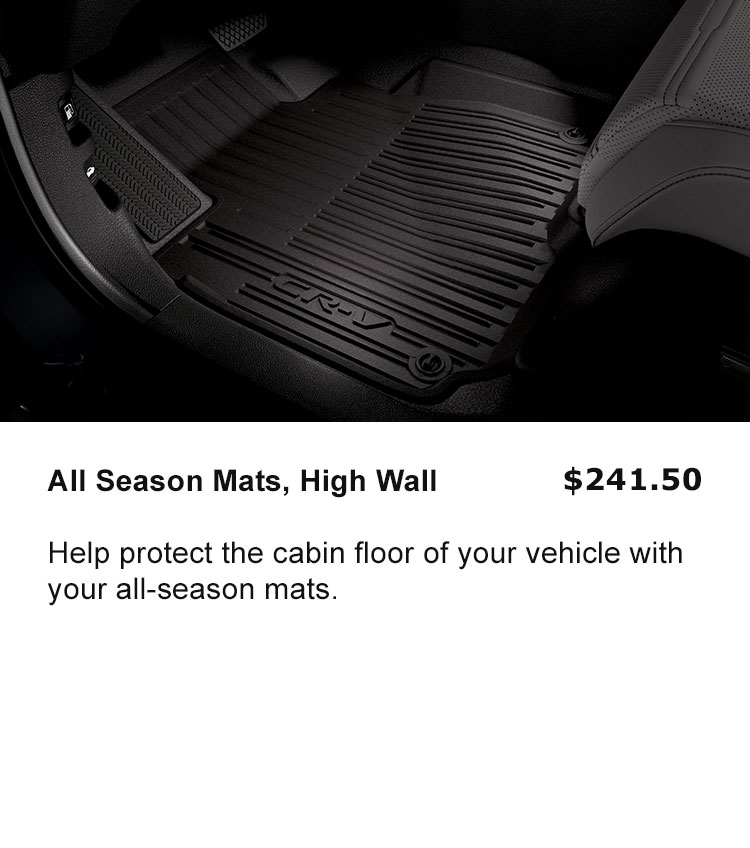 All Season Floor Mats High Side