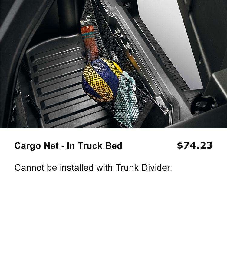 Cargo Net -In Trunk Bed