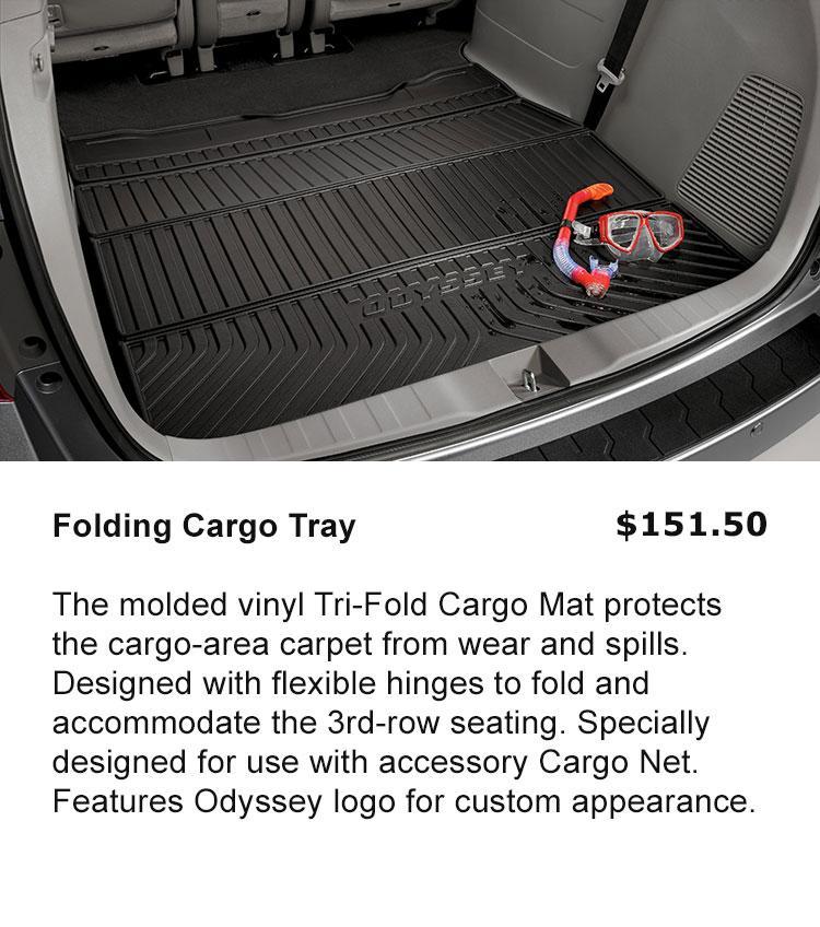 Folding Cargo Tray