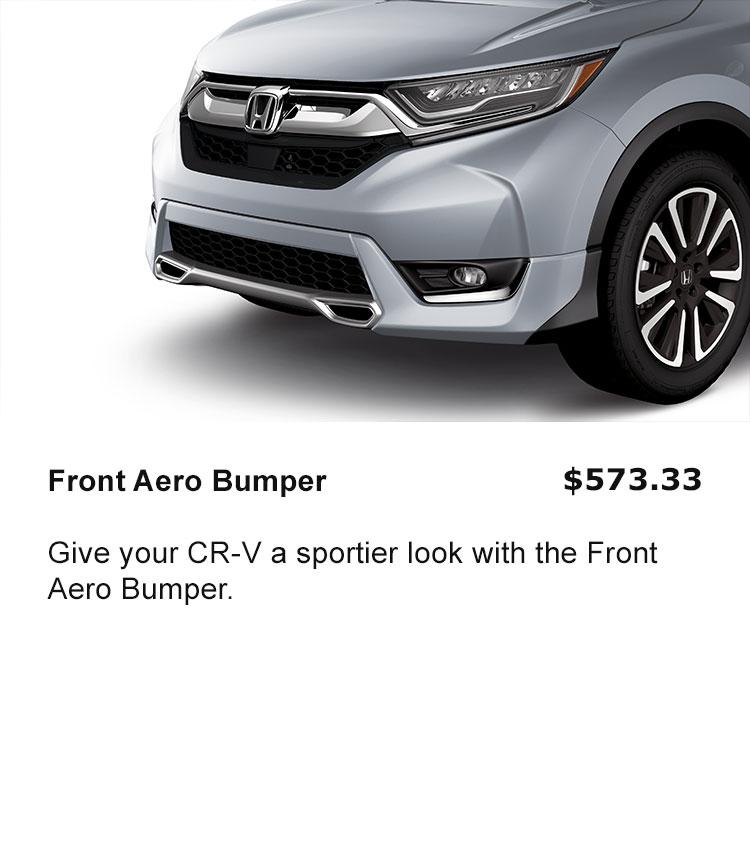 Front Aero Bumper