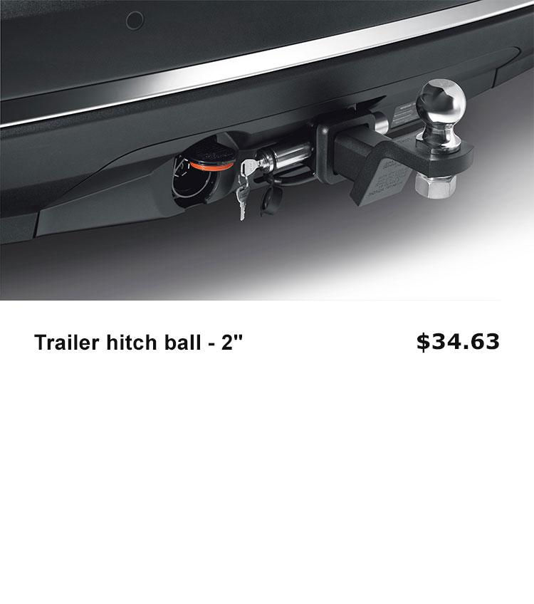 Trailer Hitch Ball - 2""