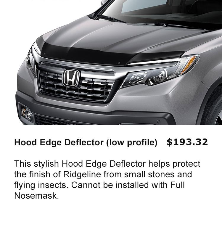 Hood Edge Deflector - Low