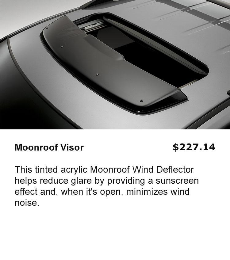 Moonroof Deflector