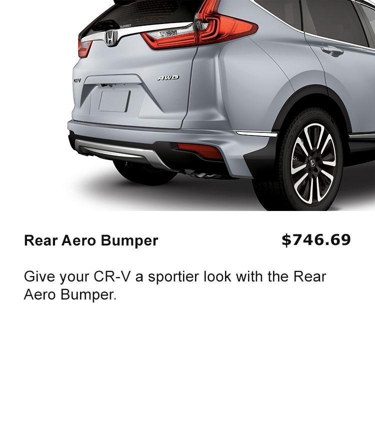 Rear Aero Bumper