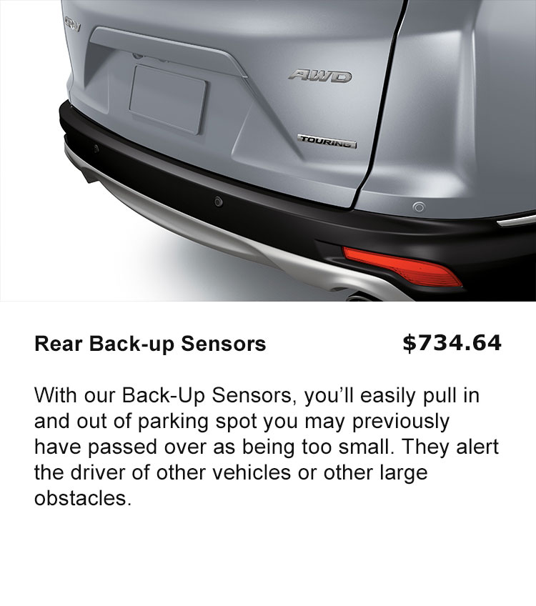 Rear Back-up Sensors