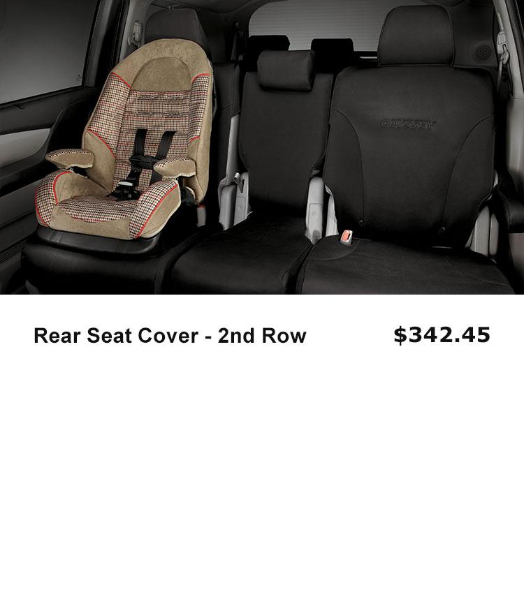 2nd Row Seat Cover