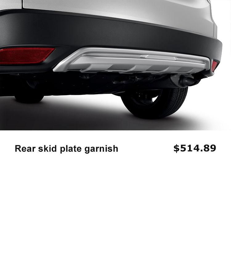 Rear Skid Plate Garnish