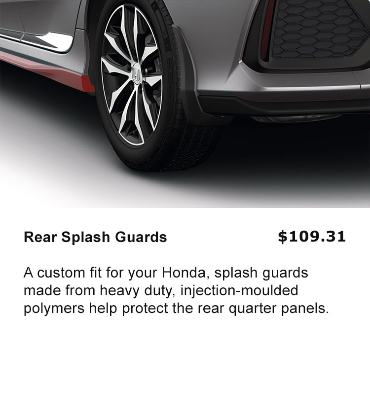 Rear Splash Guards