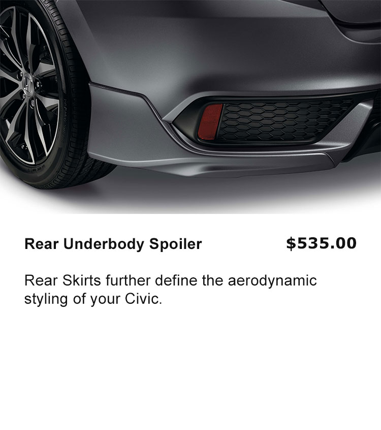 Rear Underbody Spoiler