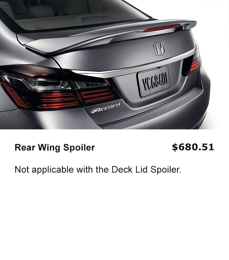 Rear Wing Spoiler