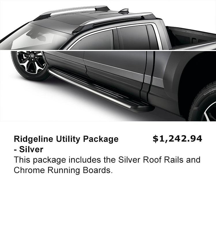 Ridgeline Utility Package - Silver