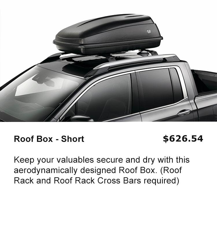 Roof Box - Short