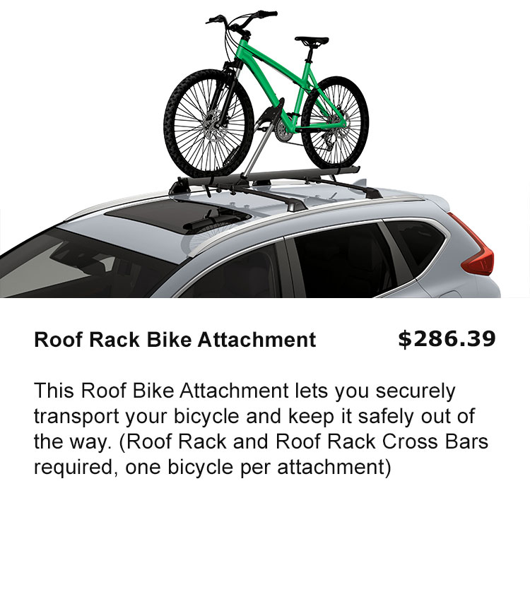 Roof Rack Bike Attachment