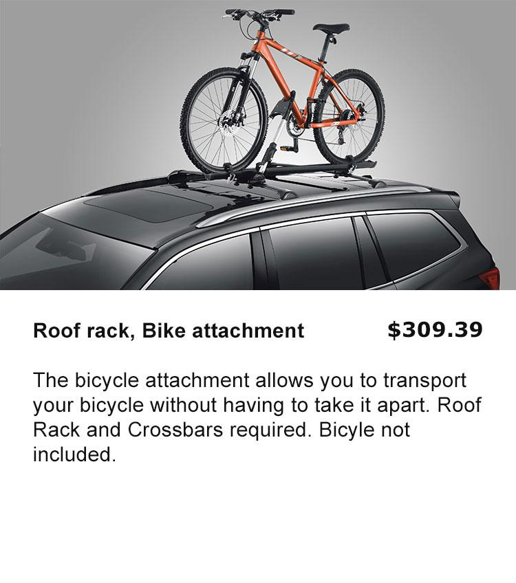Roof Rack, Bike Attachment