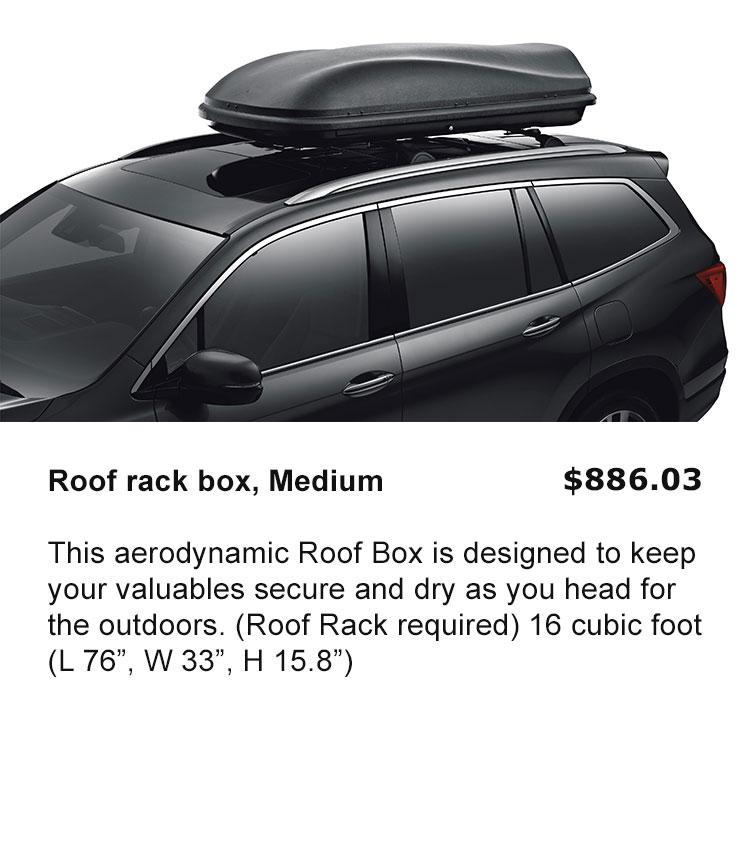 Roof Box, Medium