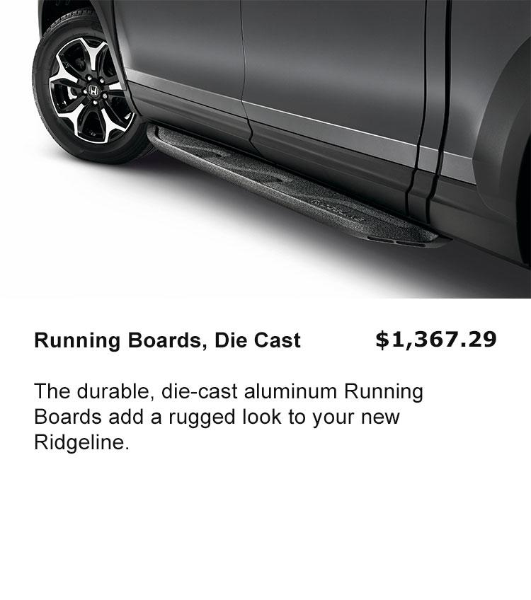 Running Boards - Die Cast