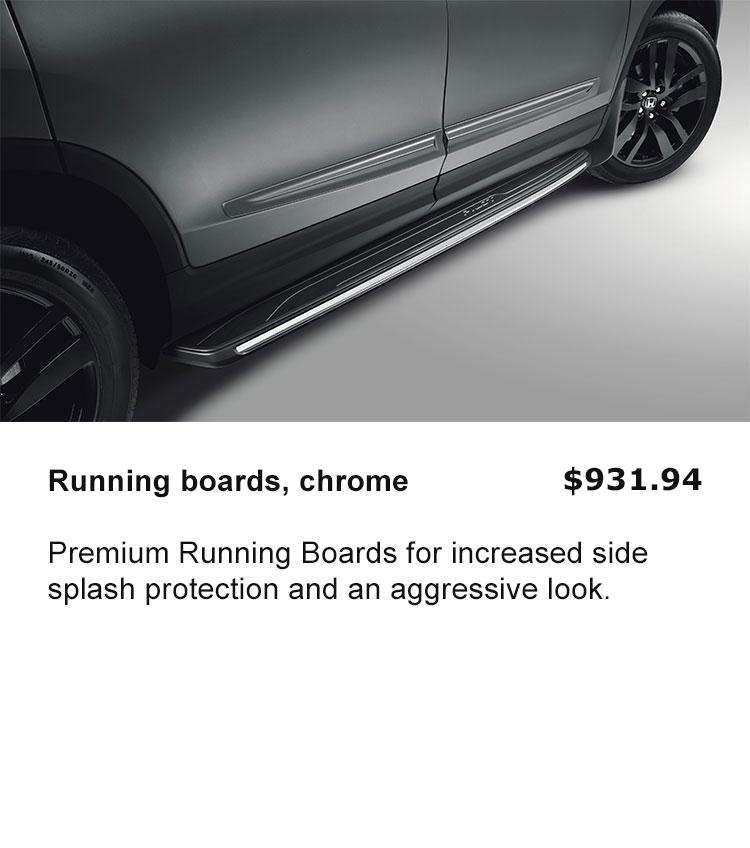 Running Boards - Chrome
