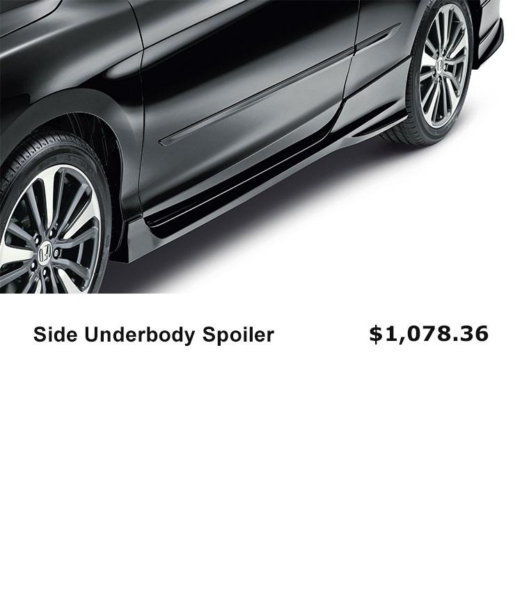 Side Underbody Spoiler