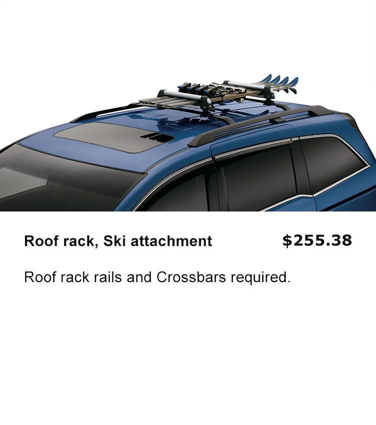 Roof Rack Ski Attachment