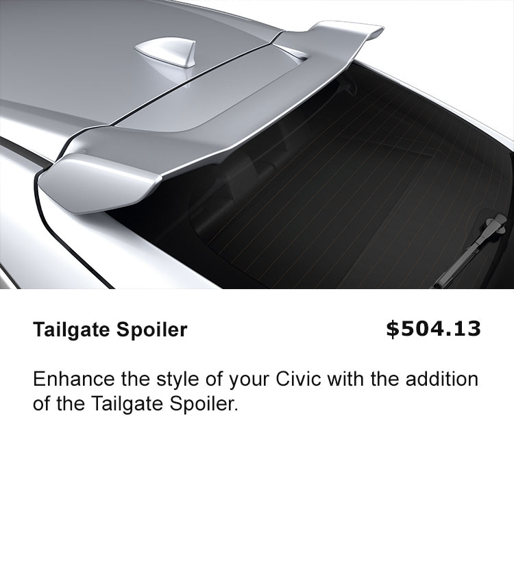 Tailgate Spoiler
