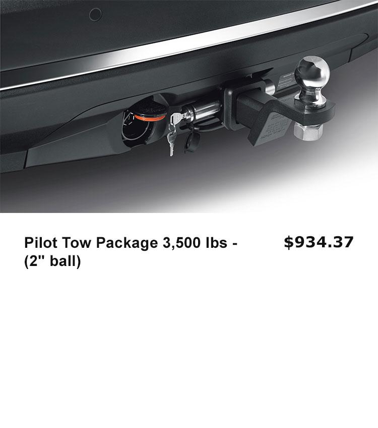 "Pilot Tow Package 3,500 lbs - (2"" ball)"