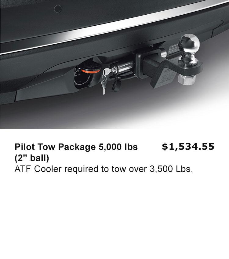 "Pilot Tow Package 5,000 lbs (2"" ball)"