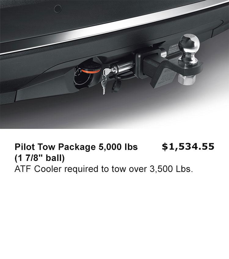"Pilot Tow Package 5,000 lbs (1 7/8"" ball)"