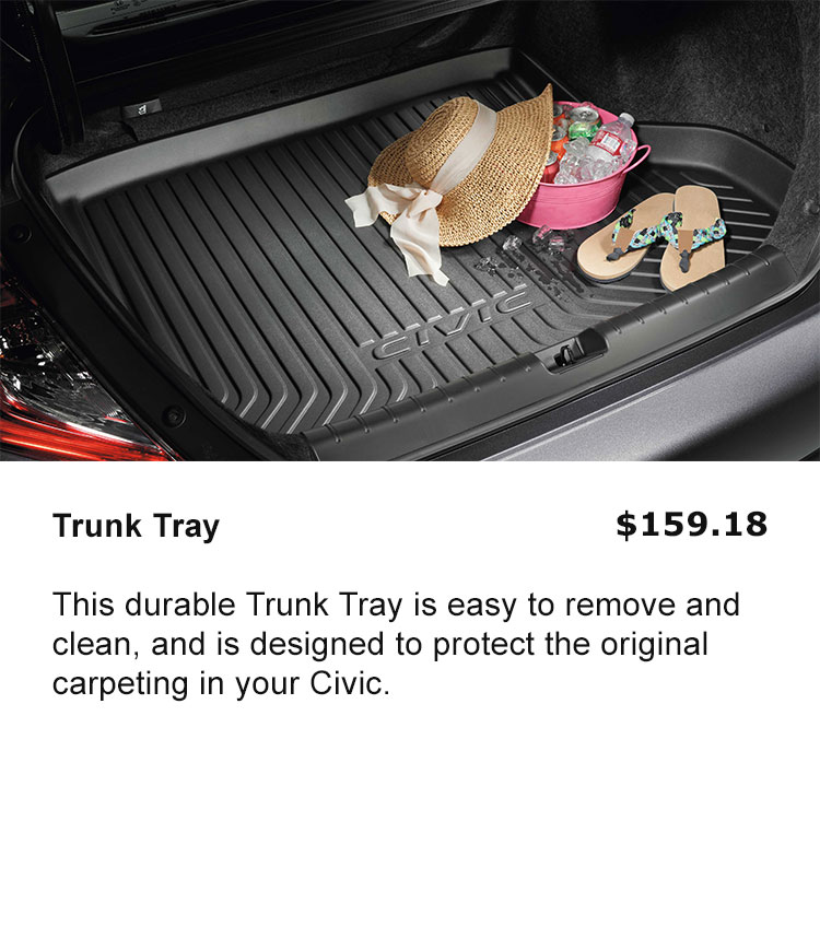 Trunk Tray
