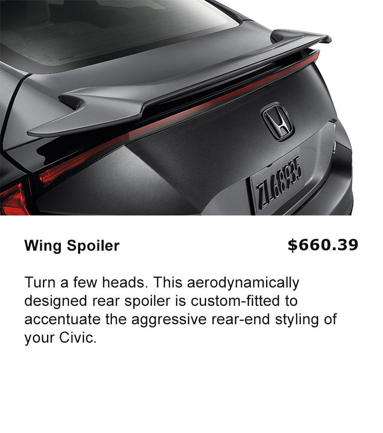 Wing Spoiler
