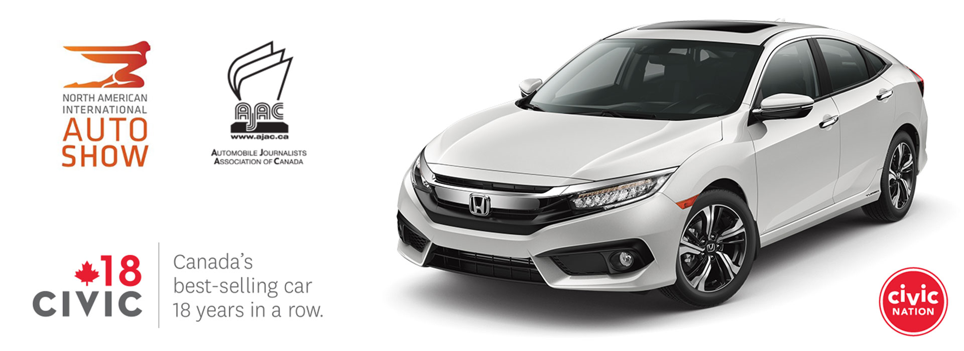 The Award Winning All-New Civic