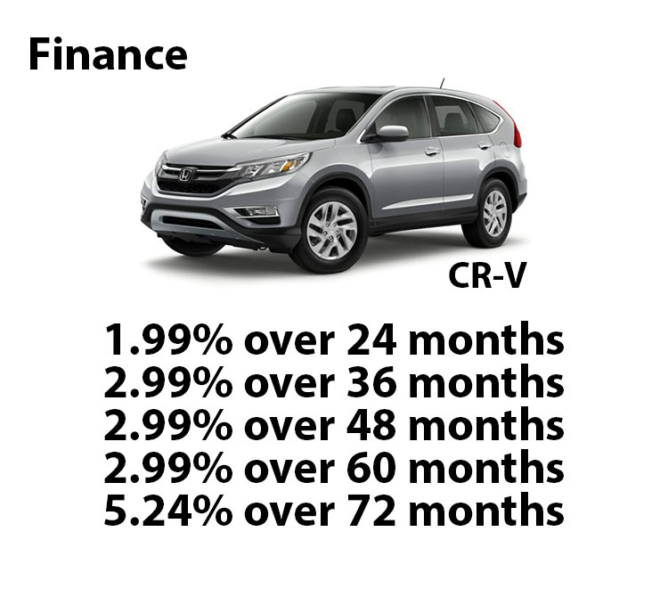 Honda Certified CR-V Finance Rates