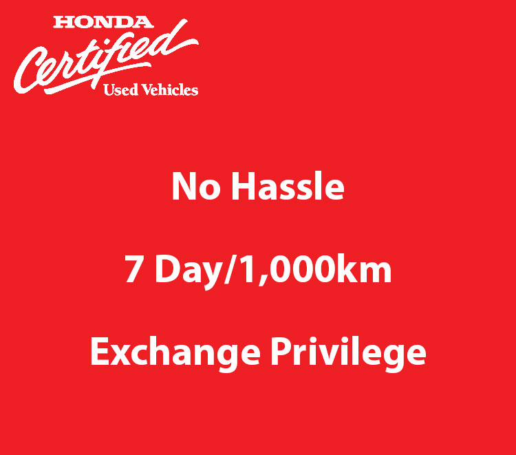 Honda Certified Used Exchange Privilege