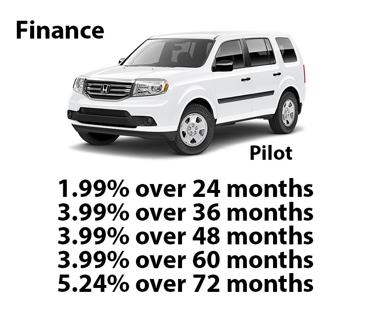 Honda Certified Pilot Finance Rates