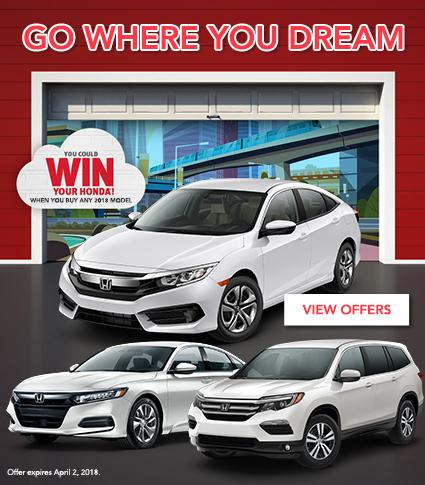 Win Your Honda - Royal Honda