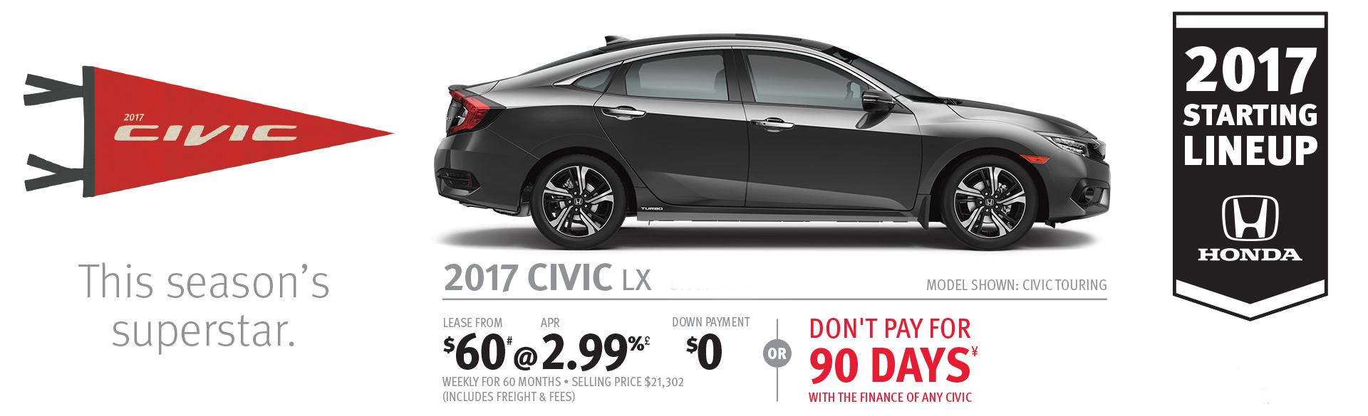 2017 Honda Civic Deal