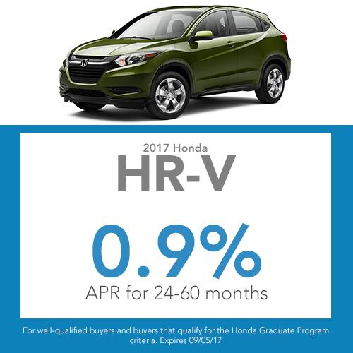 HR-V Finance Offer