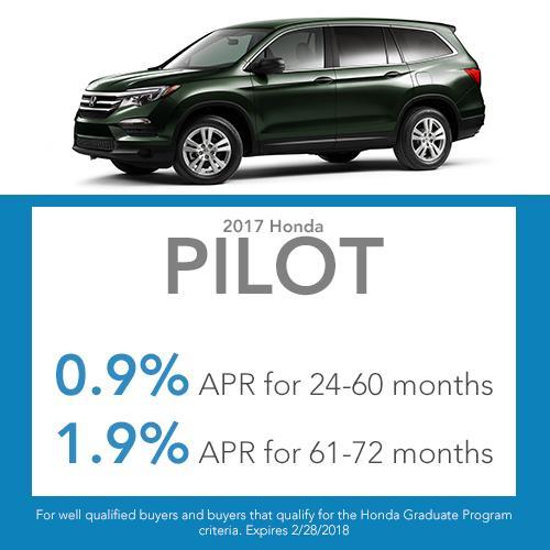 Pilot Finance Offer