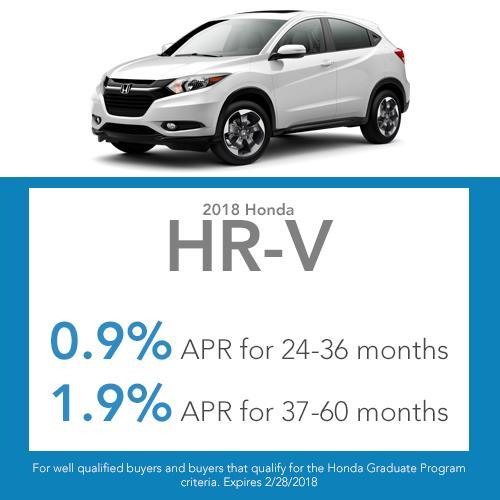 HR-V Finance Offer