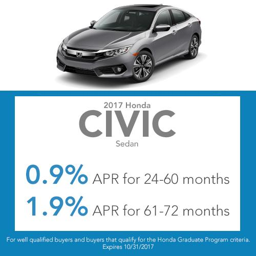 Civic Sedan Finance Offer