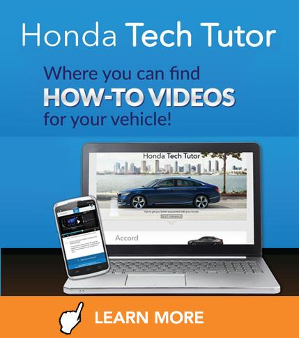 Honda Tech Tutor at Vardaman Honda
