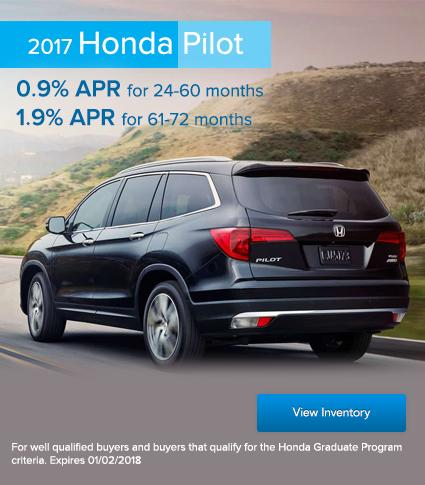 2017 Pilot Offer