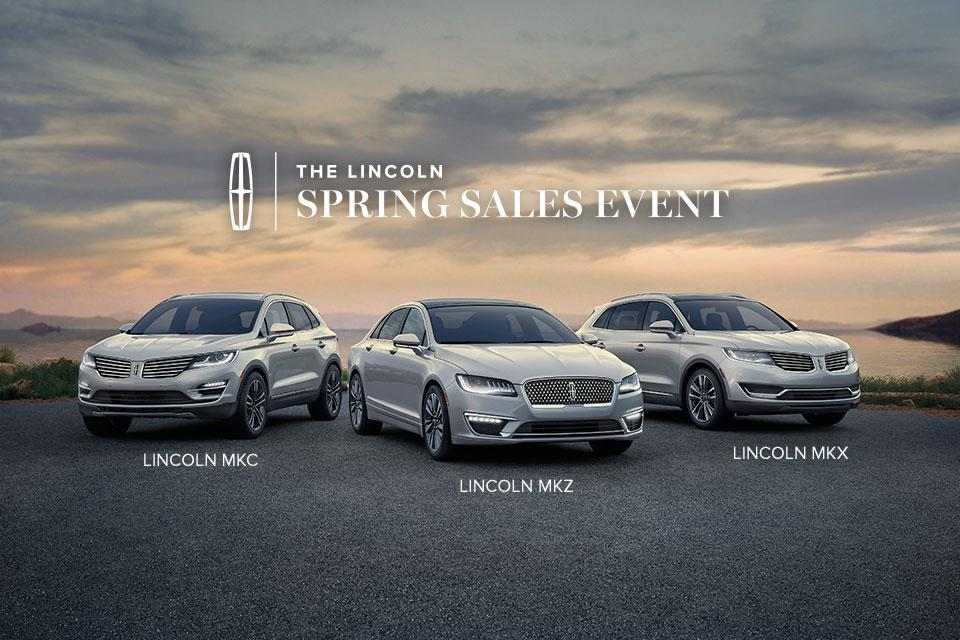 Lincoln Spring Sales Event