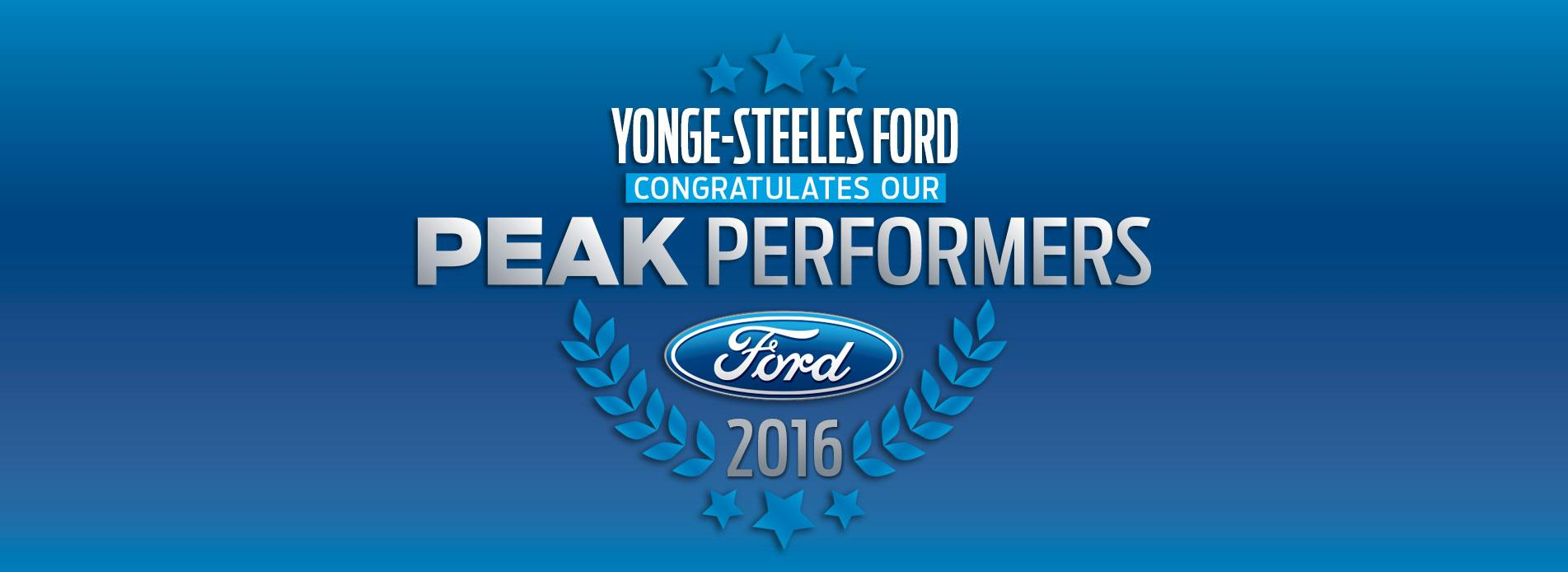 Yonge-Steeles Ford - Peak Performers
