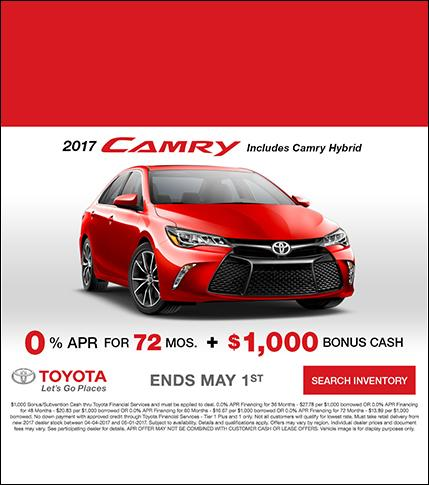 Toyota Camry Special