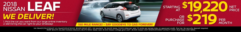 2018 Nissan Leaf Offers