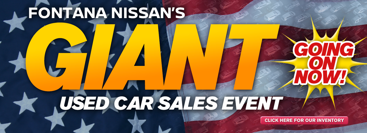 Used Car Sales Event