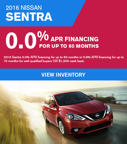 Lease a 2016 Nissan Sentra